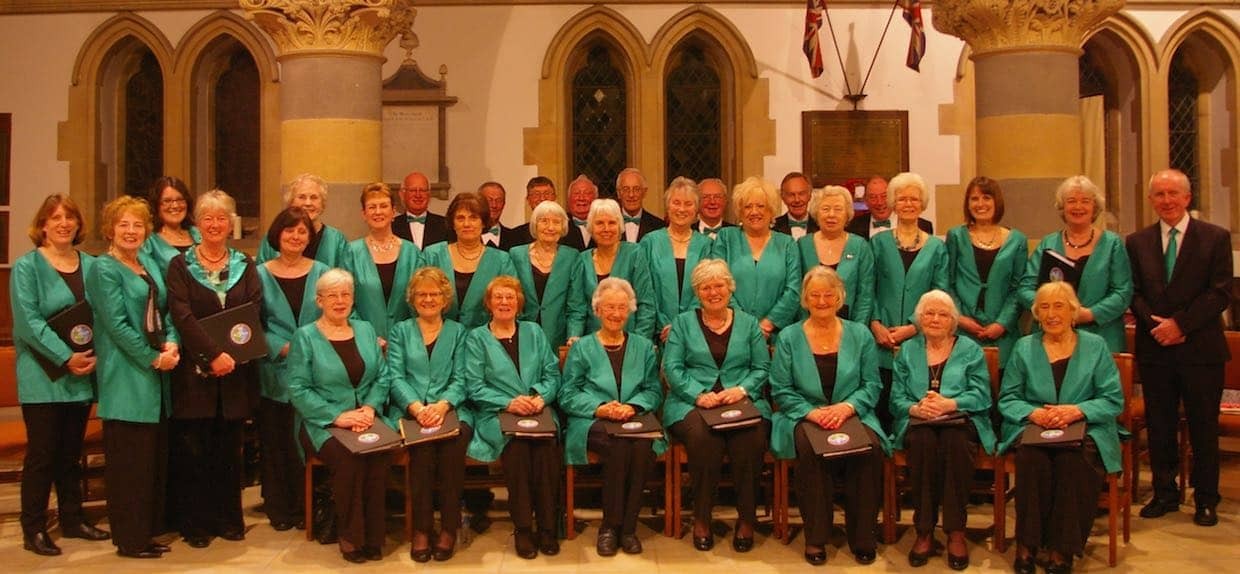The  Malvern Singers at St. James Church, Welland, March 2016