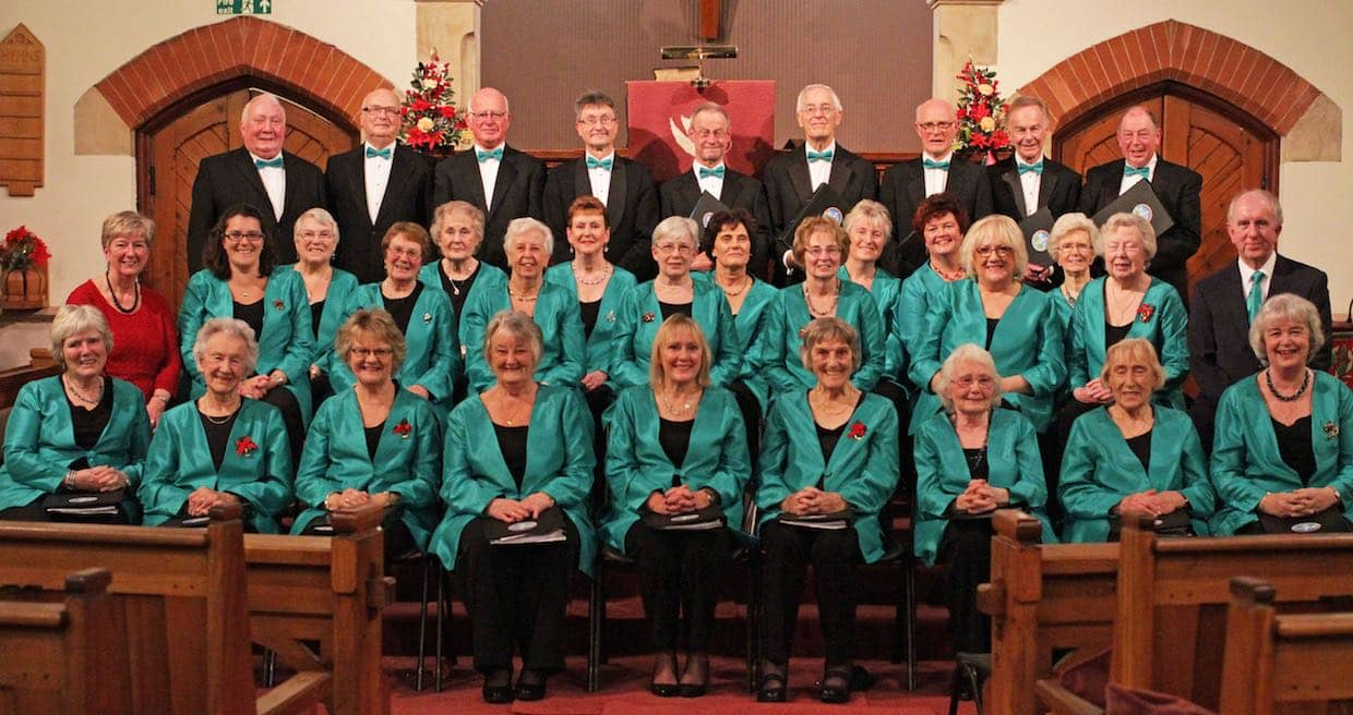 The  Malvern Singers at The United Reformed Church, December 2015