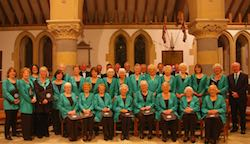 The Malvern Singers presenting Spring into Song at Welland Church on 17th March, 2016